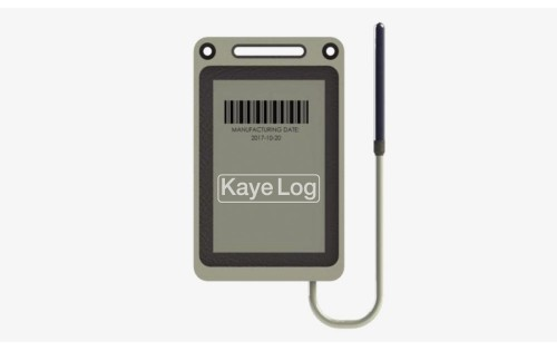 Kaye Log Temperature Data Logger with external S/S Probe